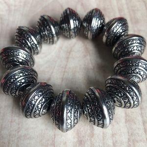 Jewelry - Silver Pewter Bulk Bracelet